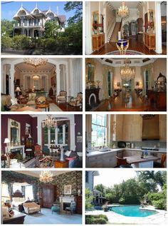 Sandra Bullock's New Orleans house pics