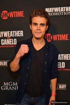 Paul Wesley @ The VIP Pre-Fight Party for Mayweather vs Canelo 2013