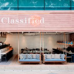 Snapshot: Working to redefine Hong Kong's somewhat generic cafe/bistro  formula, local design firm Substance have conjured up an open, seaside-chic  space for Classified's latest Repulse Bay Outpost.