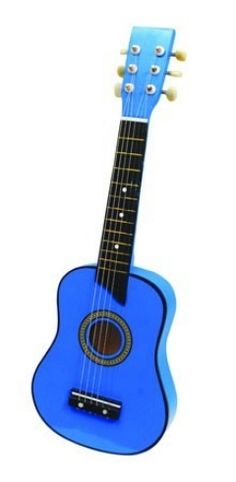 PERIZITITO: Κιθάρα εξάχορδη παιδική μπλε: Anemi: Παιχνίδια