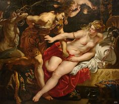 Lucretia and Tarquin. 1609-12. Peter Paul Rubens. Flemish.    1577-1640. oil on canvas.