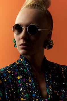 Blouse: Rag And Bone Man  Sunglasses: Mykita  Photographer: Leifur Wilberg Orrason  Stylist: Sebastian Alexander Trah