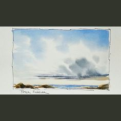 Latest video posted on YouTube. A quick Clouds and Sky tutorial. Link to my YouTube Channel is in my bio or Cut and Paste:        https://m.youtube.com/c/petersheelerart  #Video #youtube #youtubers #landscape #art #original #watercolor #winsorandnewton #watercolour #painting #paintingaday #penandink     #architecture #ink #moleskine_arts  #canada #ImagesofCanada #farm #clouds #sky #lake