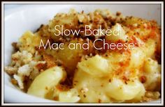 Slow cooked mac & cheese #slowcook #macandcheese