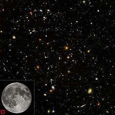 We are BEYOND small, yet God has placed His love on us!  Amazing!