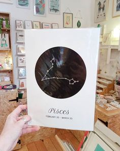 New zodiac constellation prints in by @darwindesigns!  . Check out our stories for more in store! . . . #constellation #zodiac #zodiacsigns #zodiacconstellations #starsign #pisces #astronomy #print #pursuepretty #pursuelovely #chooselovely #flashesofdelight #shoplocal #shopsmall #nottingham #supportindependent #supportindies