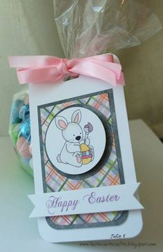 Easter Tag by Humma - Cards and Paper Crafts at Splitcoaststampers