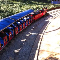 Travel Town: located at Griffith Park in Los Angeles, Ca. Great place to take the kids.