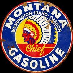Montana Chief Gasoline
