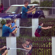 "#GirlMeetsWorld 2x03 ""Girl Meets the Secret of Life"" - Riley and Lucas"