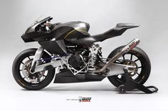 """Vyrus """"986 M2"""": unconventional suspension motorcycle for moto2 racing"""
