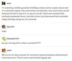 Australian birthday