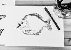 piranha by AIRAMINK on Etsy
