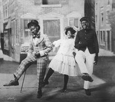 Aida Overton Walker slide show, gallery, and links   Songbook - Ada with Bert Williams and George Walker in Will Marion Cook's In Dahomey