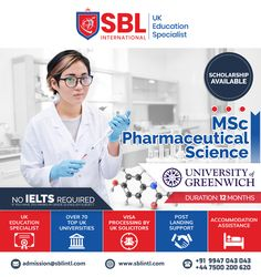 SBL International is the Best Overseas Education Consultant in Calicut. We offers you the Best Study in UK programs for International Students all over the world. We assist the students in their Study Abroad dreams along with delivering quality. University Of Greenwich, Overseas Education, Ielts, Study Abroad, Student, Science