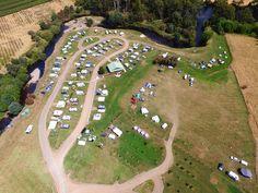 Caravan park close to Hobart. Right on the Mountain River. Family Holiday, Tasmania, Caravan, Touring, Golf Courses, Mountain, River, Spaces, Park