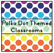 Ideas, tips, photos, and printable resources to help teachers create a polka dot themed classroom.