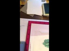 A MISTI revelation - using multi-step cling stamps easily in the MISTI. SU Stippled Blossoms stamp. - YouTube