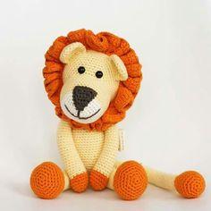 Crochet lion @bebemosscom