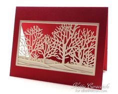 Seasonal Trees Silhouette