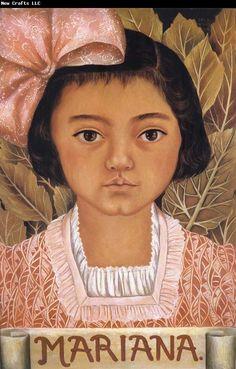 Retrato de Mariana Morillo, Frida Kahlo.