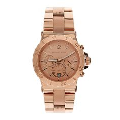 Image 1 of Michael Kors Rose Gold Bracelet Watch Michael Kors Rose Gold, Mk Watch, Rose Gold Watches, Beautiful Watches, Bracelet Watch, Sport, Bracelets, Stuff To Buy, Jewelry