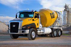 Vintage Trucks, Old Trucks, Ready Mixed Concrete, Cement Mixer Truck, Equipment Trailers, Concrete Mixers, Classic Trucks, Semi Trucks, Heavy Equipment