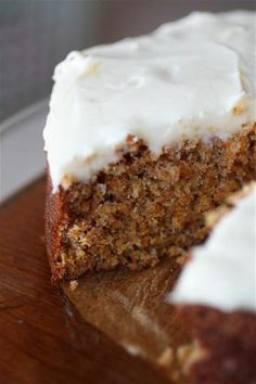 Extremely delicious and easy to make carrot cake, very healthy as well! Click for recipe