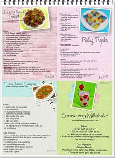Some recipes that you can try it out for yourself.sharing is caring. Some Recipe, Meal Prep, Blueberry, Healthy Recipes, Healthy Foods, Food And Drink, Menu, Canning, Fruit
