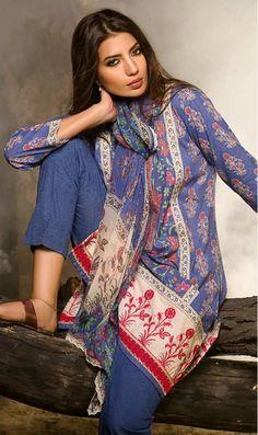 Khaadi Winter Collection 2015 #winterdresses #khaadiwintercollections