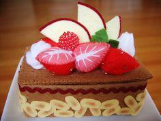 Felt pastries