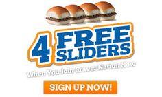White Castle - 4 Free Sliders