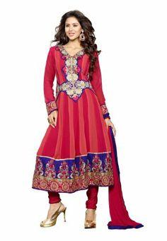 Fabdeal Indian Designer Faux Georgette Multicoloured Embroidered Salwar Kameez Fabdeal, http://www.amazon.de/dp/B00INWL6JQ/ref=cm_sw_r_pi_dp_0l7otb1Z266V7