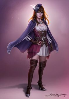 Captain's Daughter by Zolaida female pirate | Create your own roleplaying game books w/ RPG Bard: www.rpgbard.com | Dungeons and Dragons Pathfinder RPG Warhammer 40k Fantasy Star Wars Exalted World of Darkness Dragon Age 13th Age Iron Kingdoms Fate Core Savage Worlds Shadowrun Call of Cthulhu Basic Role Playing Traveller Battletech The One Ring d20 Modern DND ADND PFRPG W40K WFRP COC BRP DCC TOR VTM GURPS science fiction sci-fi horror art creature monster character design