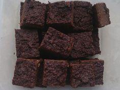 Proste i szybkie w przygotowaniu mocno czekoladowe brownie w zdrowszej wersji.Dzięki dodatku daktyli- bardzo słodkie, czekolady- mocno czekoladowe, kaszy jaglanej- bezglutenowe.