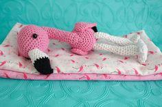 flamingo baby gift