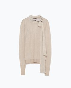 Image 8 of BOW COLLAR SWEATER from Zara