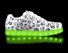 LED Shoes - Musical Notes Style HoverKicks for Adults – hoverkicks