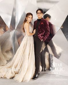 KathNiel at Star Magic Ball, Filipino, Bridesmaid Dresses, Prom Dresses, Wedding Dresses, Ball Dresses, Star Magic Ball, Farewell Dresses, Daniel Padilla, Kathryn Bernardo
