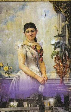Lenka Dundjerski(1871 – 1895)  daughter of Lazar Dundjerski, the famous  industrialist who lived in Vojvodina.  Famous Serbian poet Laza Kostić fell in love with the beautiful Lenka Dundjerski but considered himself unworthy of that love,being  30 years older, and so despairing,  resisted the temptation, and went to the monastery Krušedol on the mountain Fruška Gora. Soon after his departure Lenka died young of typhus in Vienna.