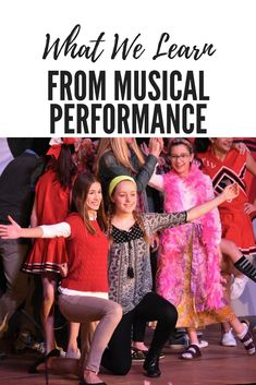 Lessons learned from taking part in musical performances.   Perspective from a music teacher and parent.