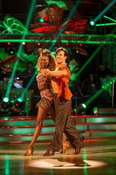 SCD Final 2016. Danny Mac & Oti Mabuse. Favourite dance Samba.
