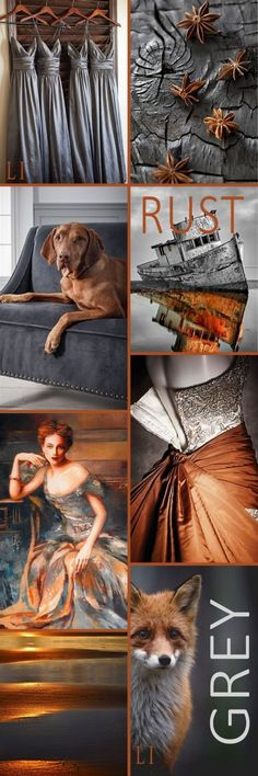 blue and rust palette for color inspiration beautiful tone combo - PIPicStats Palettes Color, Colour Pallette, Colour Schemes, Color Trends, Color Patterns, Color Combos, Pantone, Color Collage, Collage Art