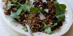 Arugula Pesto Wheat Berries Recipe