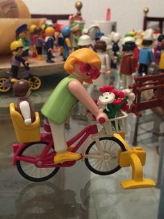Mamá en bici