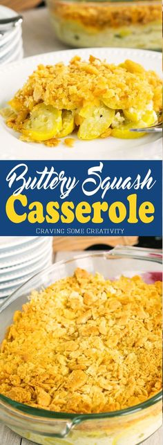 The buttery and delicious southern Squash Casserole is perfect for holidays, bbqs, and any get together you have planned. The crushed ritz cracker topping is perfect with the sweet and tender yellow squash.