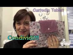 Beauty Case, Louis Vuitton Damier, Diy And Crafts, Applique, Lunch Box, Youtube, Sewing, Cover, Pattern