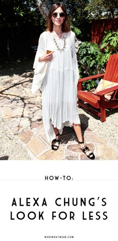 How to get Alexa Chung's Coachella style for a lot less
