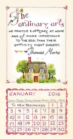 2016 Susan Branch Magnetic Calendar: Susan Branch: 9781624383366: Amazon.com: Books