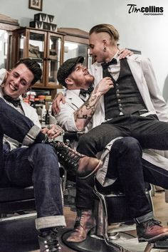 Amsterdam Barber Shop - Haarbarbaar - Tim Collins Photography
